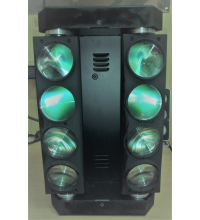 Аренда LED Spider RGBW Beam Light 8X12w DMX512 (6 шт.)